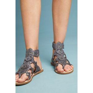 Anthro Cecelia New York Bubbly Gladiator Sandals
